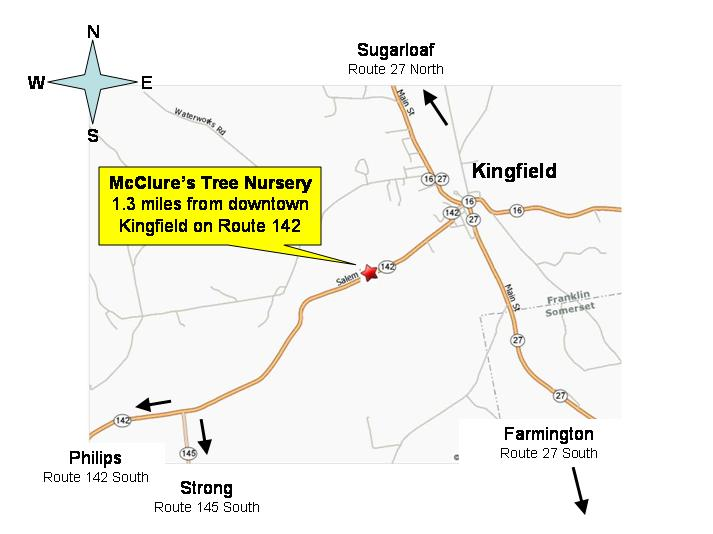 McClures Map